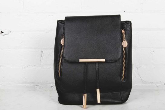 Black Fashion Backpack