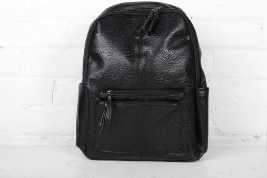Black Casual Backpack